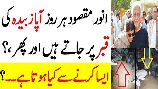 Anwar Maqsood Go Daily Grave of Aapa Zubaida and What do |