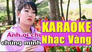 Liên Khúc Karaoke Nhạc Vàng - Nhạc Vàng Trữ Tình Karaoke Beat | Trách Ai Vô Tình - Duyên Phận