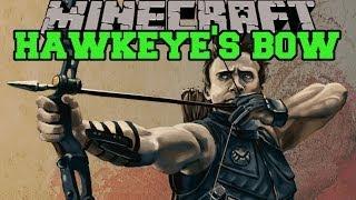 Minecraft: HAWKEYE BOW MOD (THOR'S LIGHTNING, EXPLOSIONS, AND FIRE) Mod Showcase