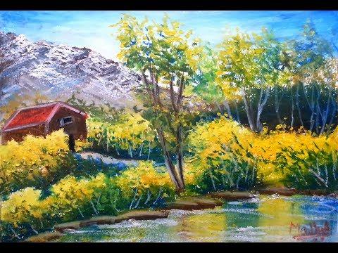 Vista – Oil Pastel Painting Lesson