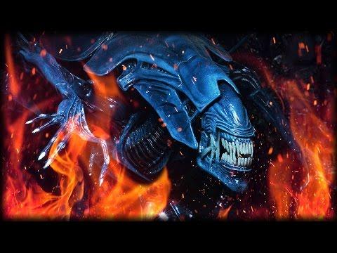 BURN THE QUEEN | Aliens VS Predator (Marine Campaign Part 3)