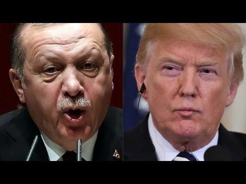 ترامب يهدد تركيا بـ-تدميرها اقتصاديا إذا هاجمت الأكراد- في شمال سوريا  - 10:55-2019 / 1 / 14