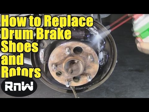 how to replace the rear drums and brake shoes on a 1997 ford f150 funnycat tv. Black Bedroom Furniture Sets. Home Design Ideas