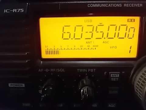 Bhutan Broadcasting Service, Thimphu BHUTAN - 6035 kHz (Part 1).