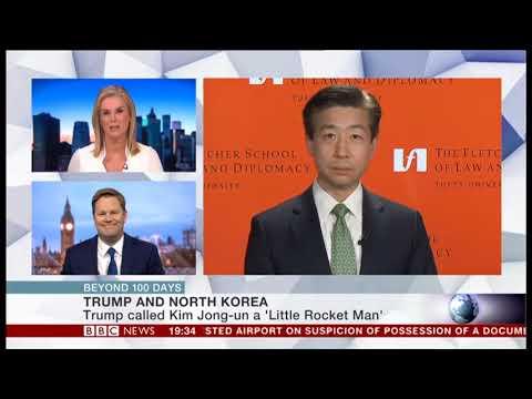 Prof. Sung-Yoon Lee on BBC News