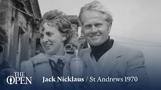 Jack Nicklaus Wins At St Andrews | The Open Official Film 1970