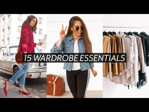 HOW TO BUILD YOUR WARDROBE WITH BASICS // 15 CLOSET STAPLES ♡ Mp3