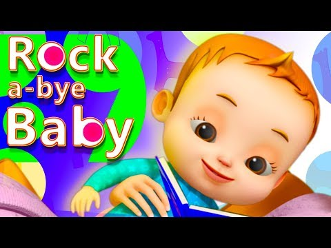 Rock A Bye Baby   Nursery Rhymes For Kids   English Rhymes For Babies   Baby Ronnie   3D Rhymes