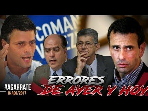 .@CarlosOrtegaCTV | EL DERRUMBE DE LEOPOLDO LÓPEZ | PARTE 3 | AGÁRRATE | FACTORES DE PODER
