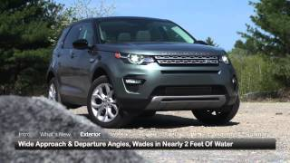 2016 Land Rover Discovery Sport Test Drive