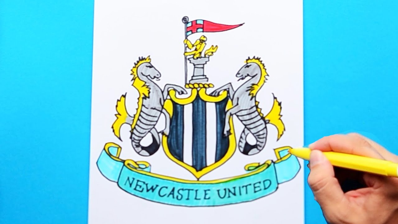 Mens Newcastle United Colour Pin Badge