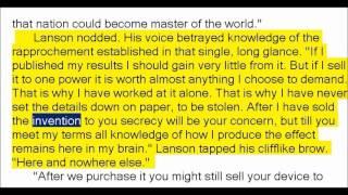 The Lanson Screen by Arthur Leo Zagat (Book Reading, British English Female Voice)