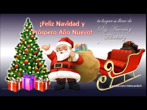 Felicitaciones navide as animadas mensaje navide o santa - Felicitaciones de navidad originales para ninos ...