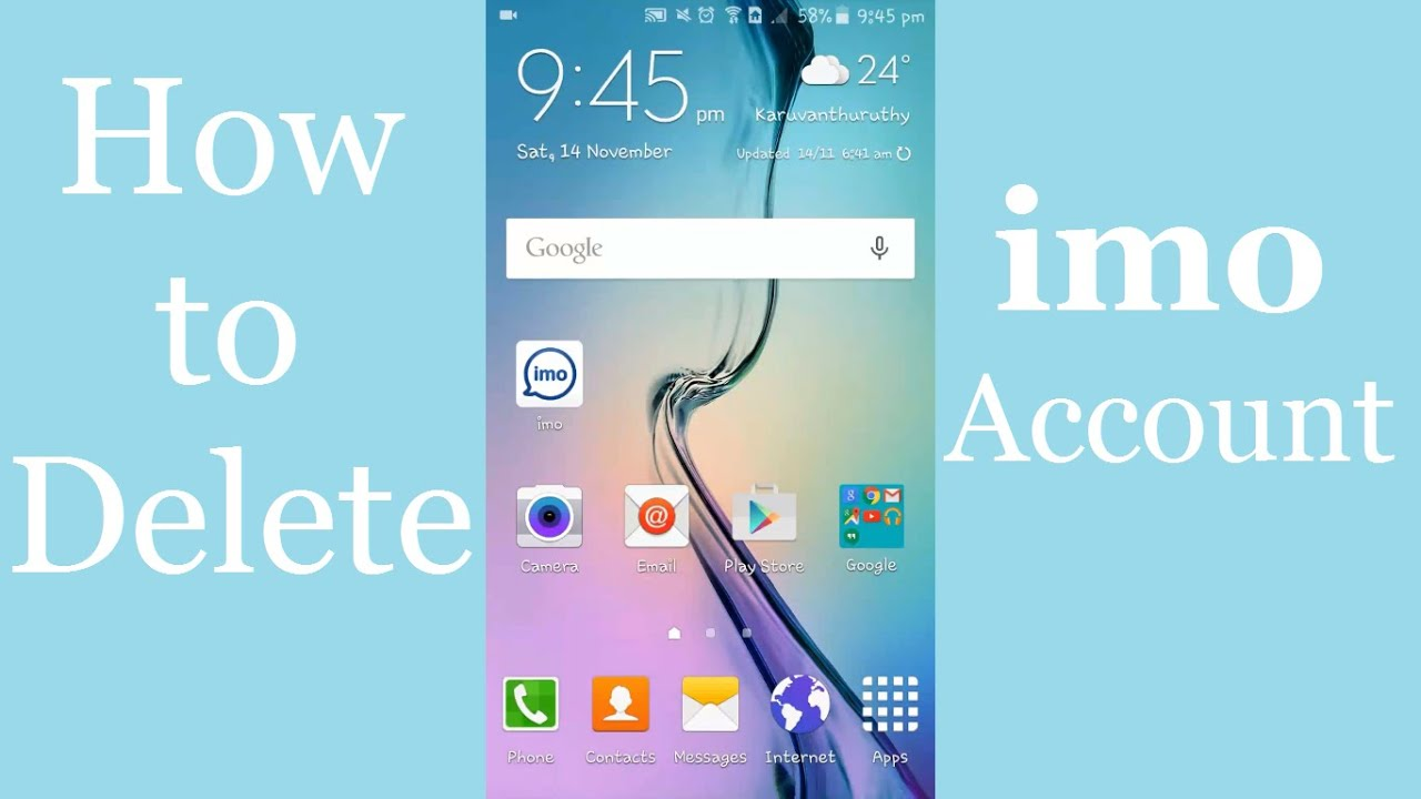 How To Deactivate Imo Account  Delete Your Imo Account