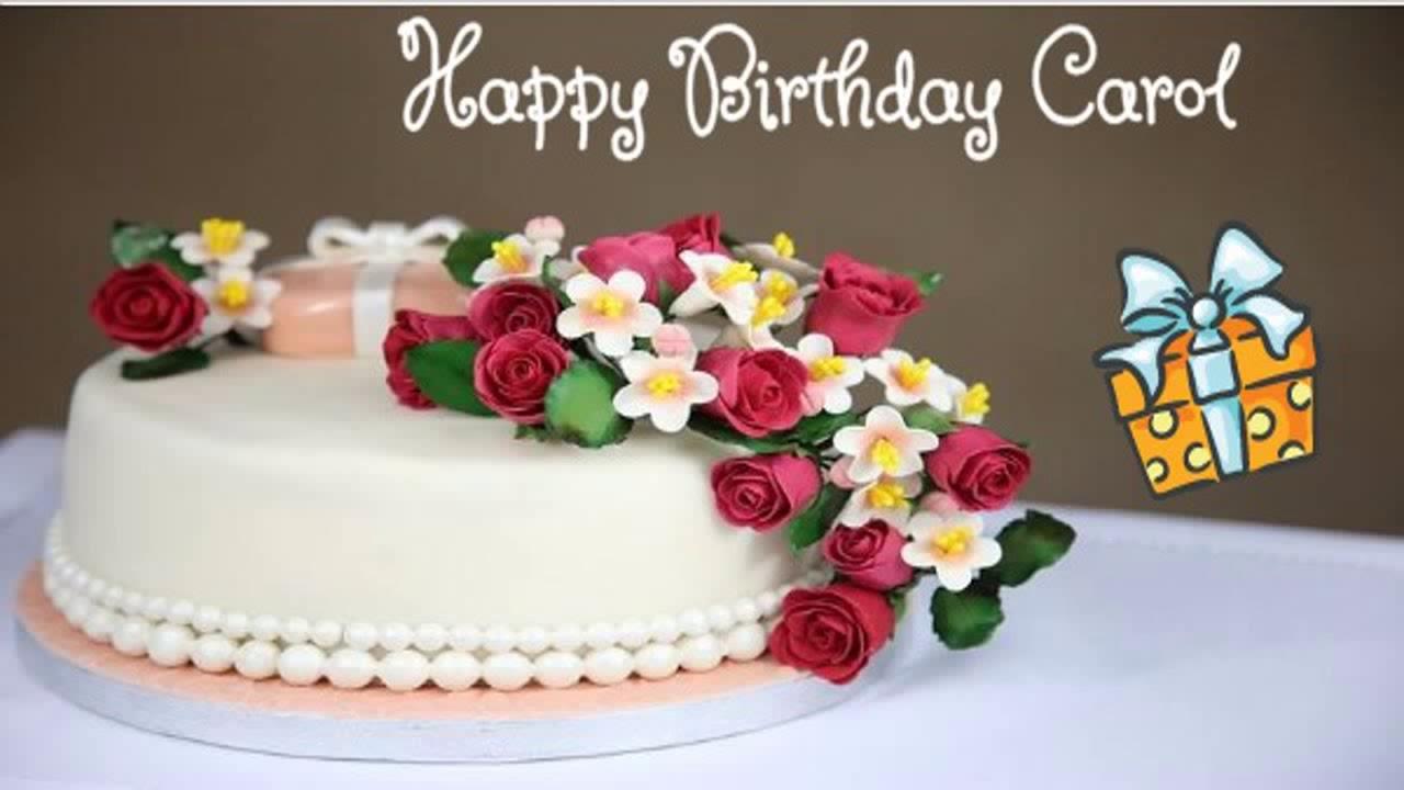Happy Birthday Carol Image Wishes Youtube