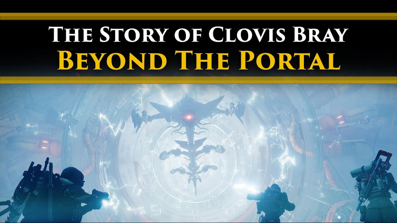 Destiny 2 Lore - What Clovis Bray Found on the other side of the Glassway Portal! (The Forge star!)