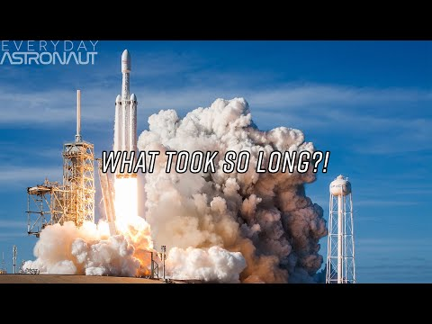 Why it took 5 years for the Falcon Heavy to fly