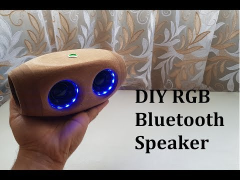DIY RGB Bluetooth Speaker Used Google Home Speakers