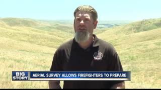 Boise District Bureau of Land Management tours Boise Front in preparation for fire season