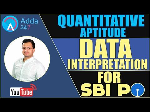 DATA INTERPRETATION FOR SBI PO 2017