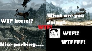 Skyrim WTF The Intro Gone Wrong