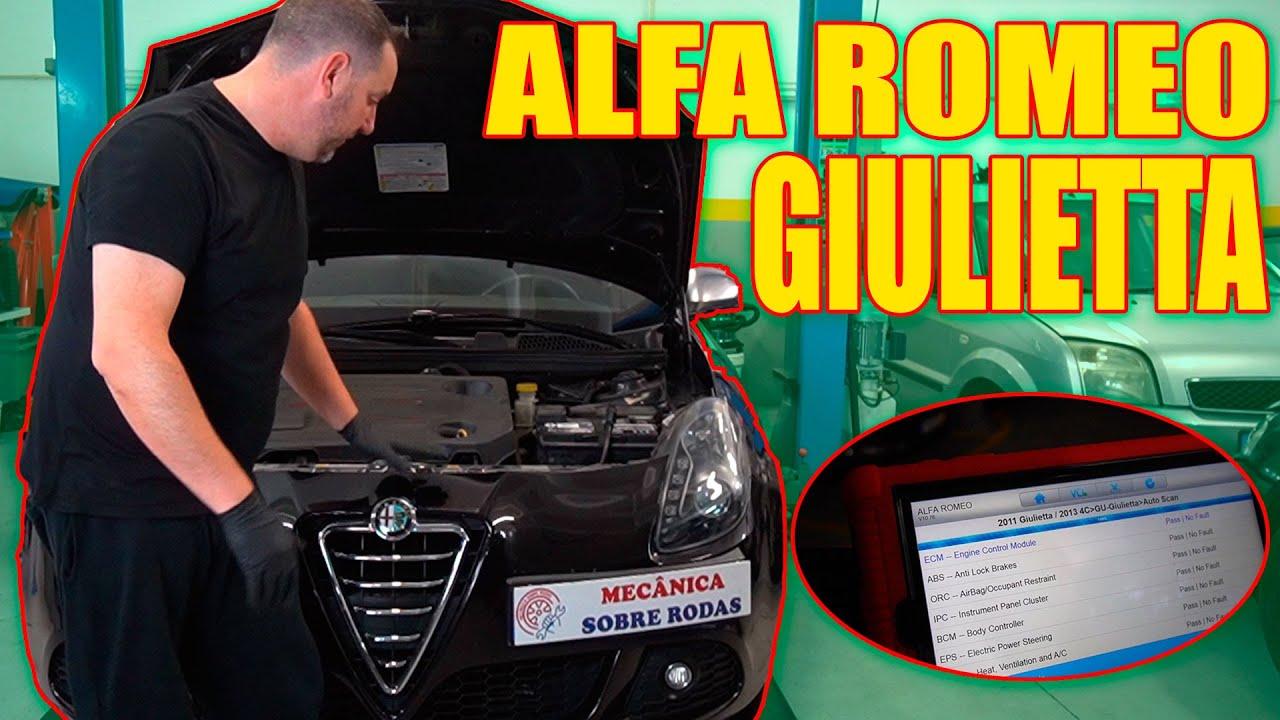 ALFA ROMEO GIULIETTA 1.6 JTDM-2 - Revisão Base óleo e filtro