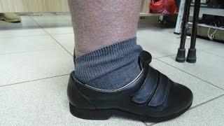 Пошив обуви при отёках ног(Обувная мастерская ТУФЕЛЬКА (г.Волжский). Пошив женских полуботинок на отёчные ноги. Отёк стопы и голени...., 2015-07-22T19:25:04.000Z)