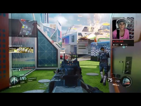 CALL OF DUTY BO3 WITH NUMBER 2 LEADERBOARD PLAYER LUCKYGIRL!!!!