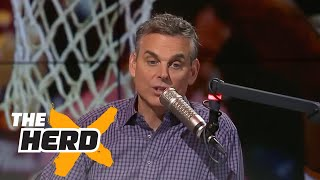 Tom Brady working on a contract extension - Colin reacts | THE HERD
