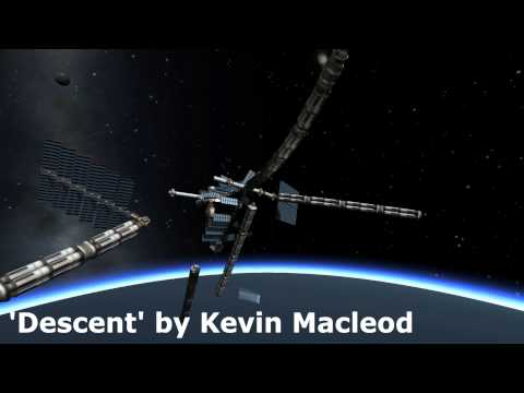Kerbal Space Program - De-Orbiting Epic Space Station