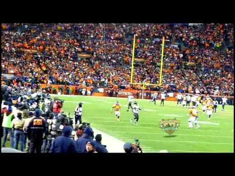 Rocky Mountain Rainbow - Joe Flacco pass to Jacoby Jones