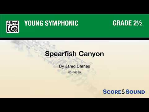 Spearfish Canyon, by Jared Barnes – Score & Sound