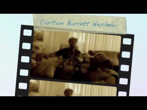 Carlton Barrett drum lesson clip by Aston Barrett jr.