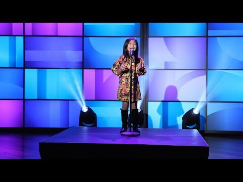 Adorable 'America's Got Talent' Singer Celine Tam Performs