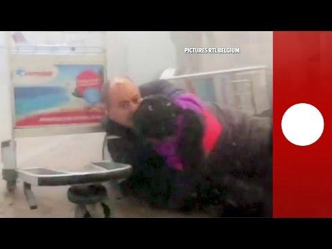 Attentat à l'aéroport Zaventem : les images après l'explosion - images violentes