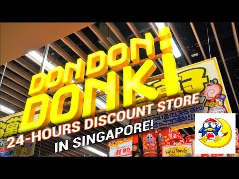 Don Don Donki is in Singapore