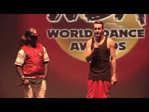 Contemporary Eric & Willdabeast Adams do a contemporary contact Improv dance off at the 2014 WDA
