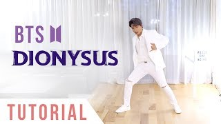 Download lagu BTS Dionysus Dance Tutorial Explanation Mirrored Ellen and Brian