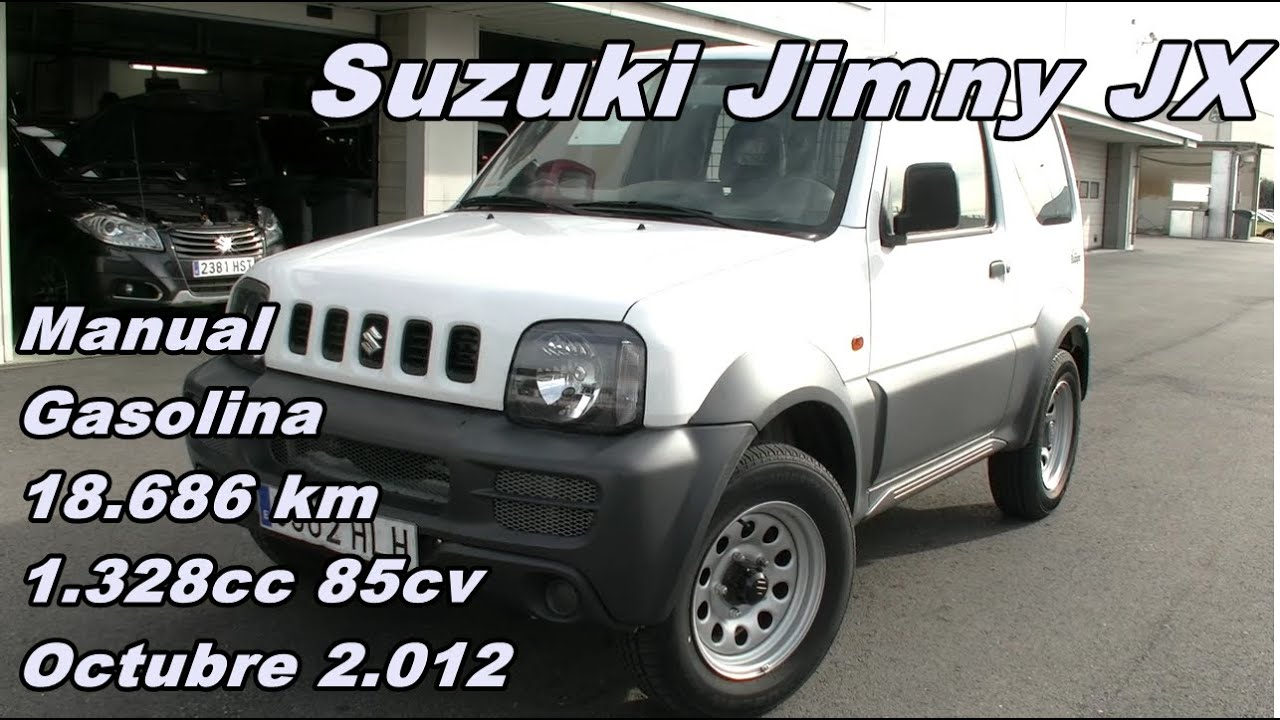suzuki jimny 1 3 jx 12 manual gasolina 85cv. Black Bedroom Furniture Sets. Home Design Ideas