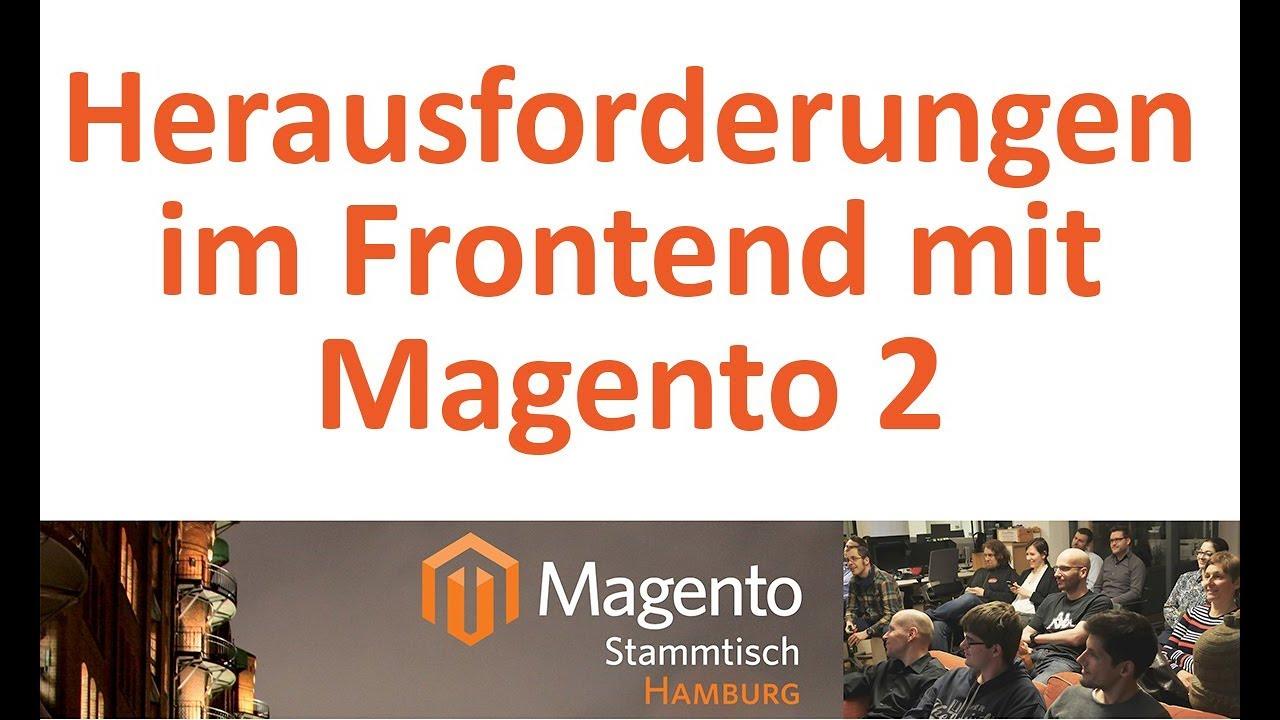 Download Herausforderungen im Frontend mit Magento 2 am Beispiel von sanivita.de - MSTHH38