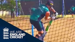 Jason Roy In The Nets - We Are England Cricket