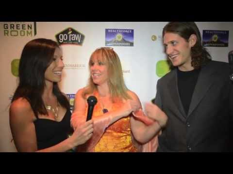 Laura Fox & Nathan Crane interview at the Raw Living Expo