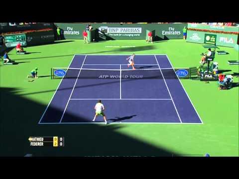 Indian Wells 2014 Saturday Highlights Federer Nadal