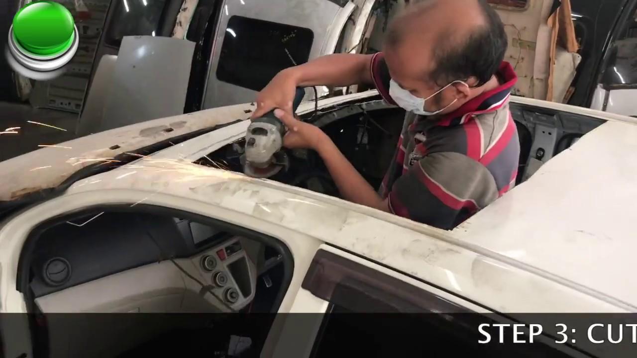 How To Install Sunroof Moonroof Youtube Skoda Pickup Fuse Box