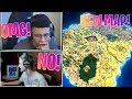NINJA & MYTH REACT TO *NEW* SEASON 5 MAP! (Fortnite Funny Moments)