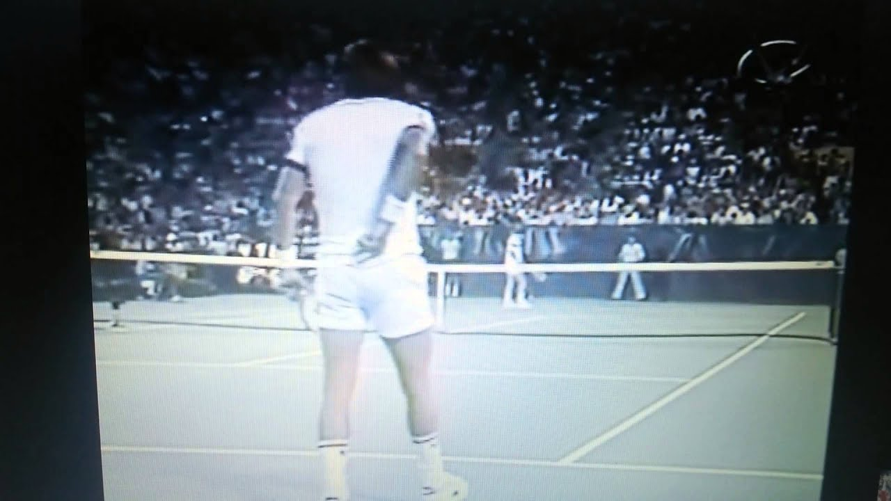 ジミーコナーズVSマッケンロー 1980年 全米オープン - YouTube