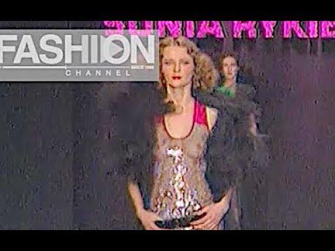 SONIA RYKIEL Fall 2000/2001 Paris - Fashion Channel