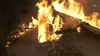 Glass Fire Rips Through Napa Valley | Napa CA 9.28.20