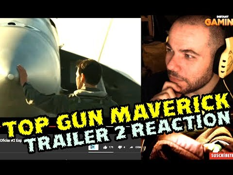 bellisimo! Top Gun: Maverick (2020) Tráiler Oficial #2 Español reaction  video reaccion
