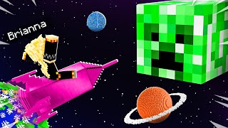 I Found a CREEPER ONLY Planet in Minecraft!
